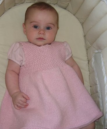 Debbie Bliss Baby Dress