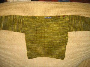 A sweet little baby sweater